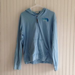 The North Face | lightweight zipper jacket large